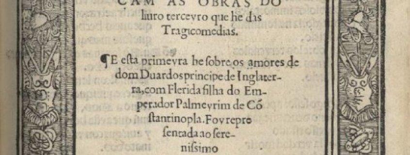 TRAGICOMEDIA DE DON DUARDOS (1522)